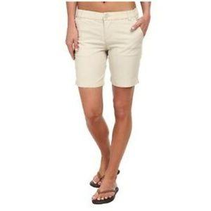 5/$24 Patagonia Khaki Tan Stretch Shorts 6